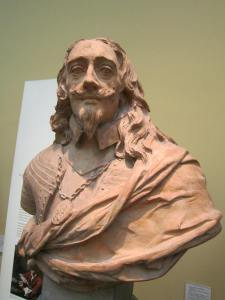 Bust of King Charles I in the British Museum, London