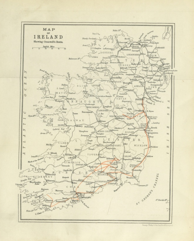 Cromwell in Ireland, a history of Cromwell's Irish Campaign ... with map, plans and illustrations
