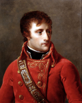 Young Napoleon as First Consul of France.