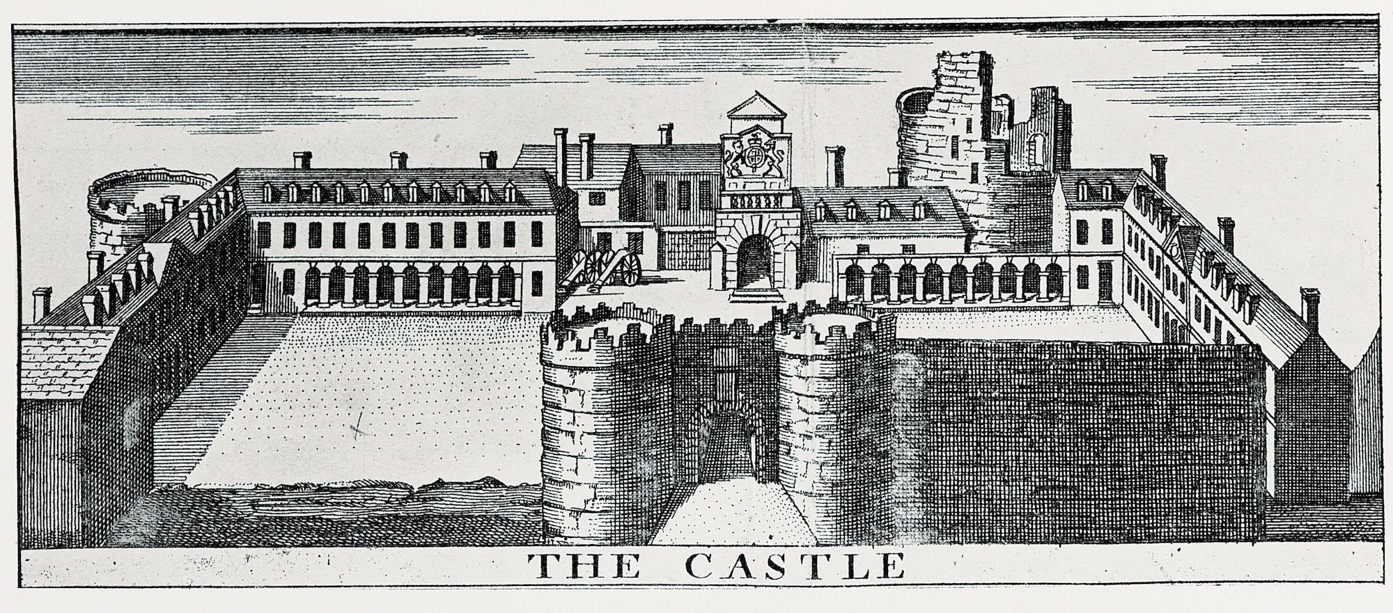 View-of-Dublin-Castle-fom-Charles-Brookings-map-of-Dublin-c.1728